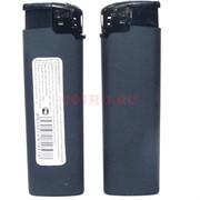 Зажигалка HL-738 черная матовая 50 шт/уп