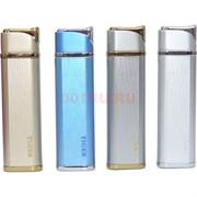 Зажигалка газовая Tiger «металл шлифованный» 4 цвета