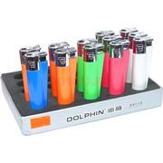 Зажигалка газовая Dolphin 5 цветов