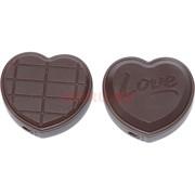 Зажигалка газовая «шоколадка сердце»