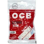 Фильтры сигаретные OCB Long Slim 100 шт 6 мм диаметр
