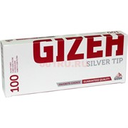 Гильзы для самокруток Gizeh 100 шт Silver Tip