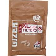Фильтры для самокруток Gizeh 6 мм 120 шт Pure XL Slim