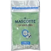 Сигаретные фильтры Mascotte 6 мм 120 шт Slim угольные