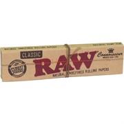 Бумага для самокруток RAW Kingsize Slim+Tips