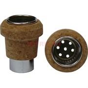Трубка пробка для бутылки 35x28 мм из пробочного дерева
