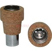 Трубка пробка для бутылки 47x28 мм из пробочного дерева