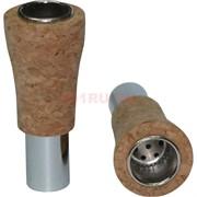 Трубка пробка для бутылки 67x28 мм из пробочного дерева