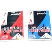 Карты Fournier для покера 100% пластик 54 карты