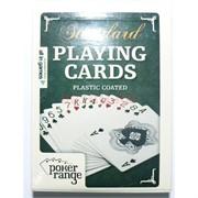 Карты для покера Standard Playing Cards 100% пластик 54 карты