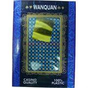 Карты для покера WANQUAN 100% пластик 54 карты