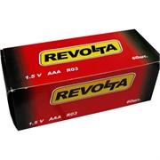 Батарейки АА пальчиковые солевые Revolta 60 шт