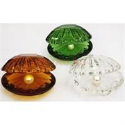 Кристалл «Жемчужина» цветная 7 см (цвета в ассортименте)