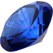 Кристалл «бриллиант» 9,5 см синий