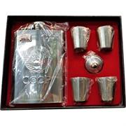 Набор подарочный Фляга СССР и  4 стаканчика (005-24)
