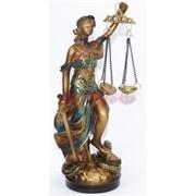 Богиня Фемида с мечом и весами 20 см
