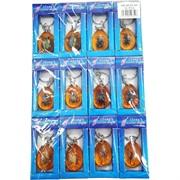 Брелок (KY-569) жуки, крабы, скорпионы в пластмассе 12 шт/уп