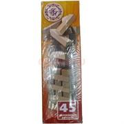 Игра «Башня Джанго-дон» 45 деревянных брусков