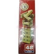 Игра «Башня Джанго-дон» (182-19) 48 деревянных брусков