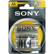 Батарейка цинковая SONY AA 40 шт