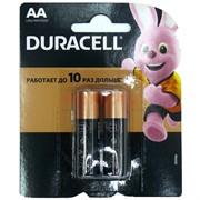 Батарейка Duracell AA 2 шт/уп