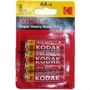 Батарейка цинковая Kodak AA 40 шт/уп
