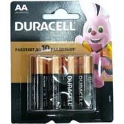 Батарейки Duracell AA 4 шт/уп
