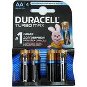 Батарейка Duracell Turbo Max AA 4 шт/уп