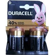 Батарейка Duracell D 2 шт/уп (цена за 2 шт)