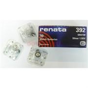 Батарейка для часов 392 renata 10 шт/уп