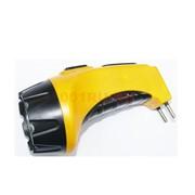 Фонарик аккумуляторный (NGY-009) желтый 13 см