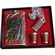 Набор подарочный Jack Daniels с зажигалкой и стаканчиками