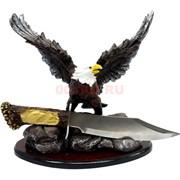 Набор подарочный Статуэтка Орлан с кинжалом