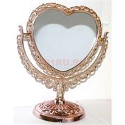 "Зеркало ""Сердце"" 20,5 см высота (3 цвета)"