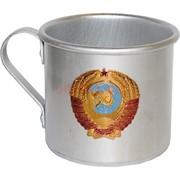 Кружка алюминиевая 0,5 л «герб СССР»
