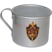 Кружка алюминиевая 0,5 л «КГБ СССР»