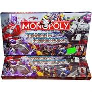 Игра настольная Монополия Transofmers