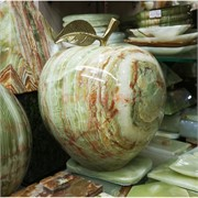 Яблоко из оникса 8 дюймов