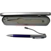 Ручка фонарик в металлической коробочке