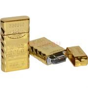 Зажигалка Слиток золота 10 унций газовая кременевая