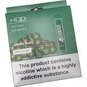 HQD Cuvie Green Bean 300 затяжек электронный персональный испаритель