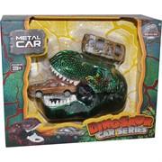 Голова Динозавра с машинкой Dinosaur Car Series