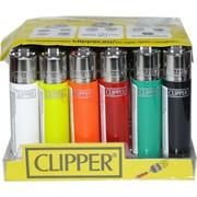 Зажигалка газовая кремневая Clipper