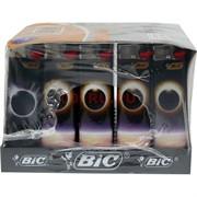 Зажигалка газовая кремневая Bic 50 шт/уп «затмение»