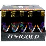 Зажигалка газовая пьезо Unigold «в ассортименте» 50 шт/уп