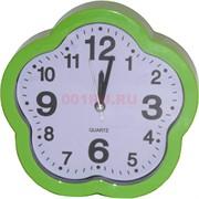 Часы-будильник настенные (K41) цветочек