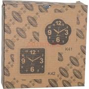 Часы-будильник настенные (K41) квадратные