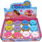 Слайм «пончики» 24 шт/уп Donuts Colored Crystal Mud