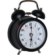 Будильник-часы кварцевые металлические 1 размер