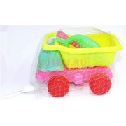 Игрушка (1062) детская машинка с лопатой и формочками